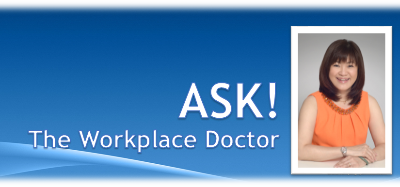 ASK! the Workplace Doctor, Ms Angeline V Teo
