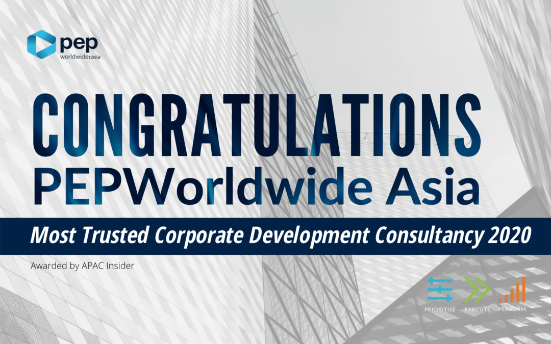 PEPWorldwide Asia: The Most Trusted Corporate Development Consultancy 2020