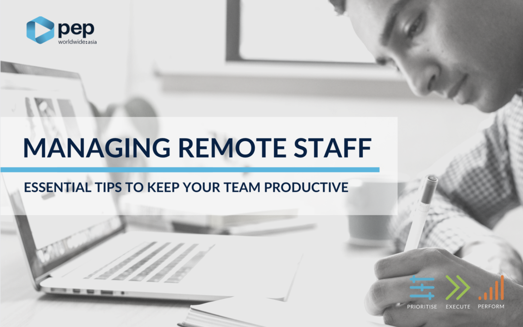 Managing Remote Staff: Essential Tips To Keep Your Team Productive