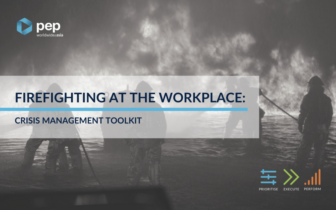 Fire-fighting at the Workplace: What Your Crisis Management Toolkit Should Look Like
