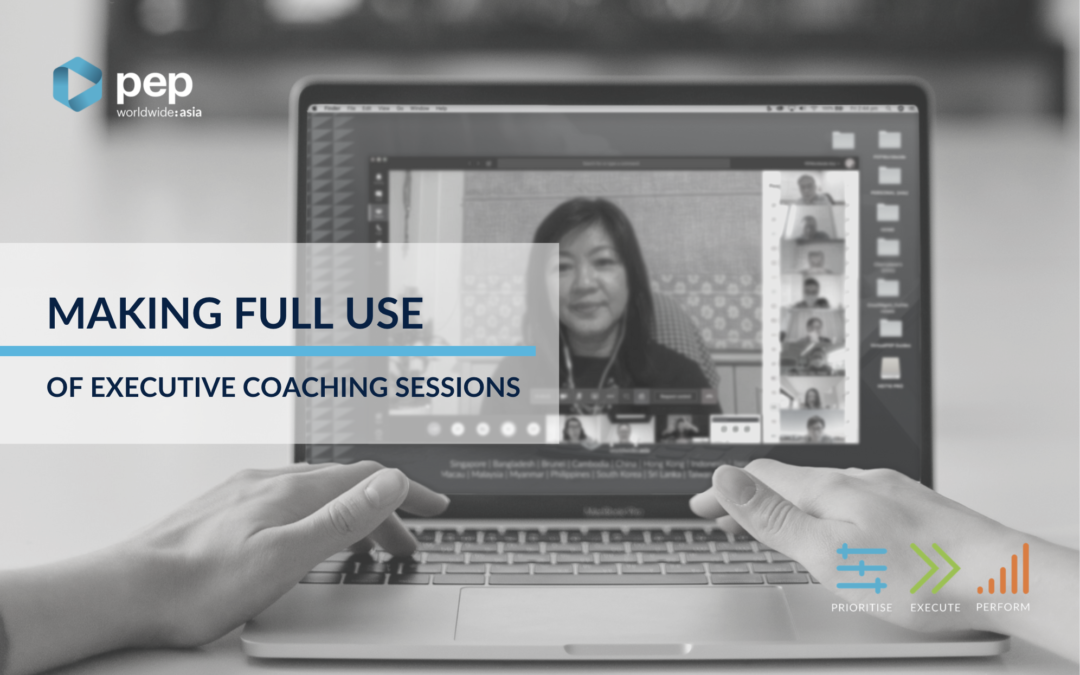Making Full Use of Executive Coaching Sessions