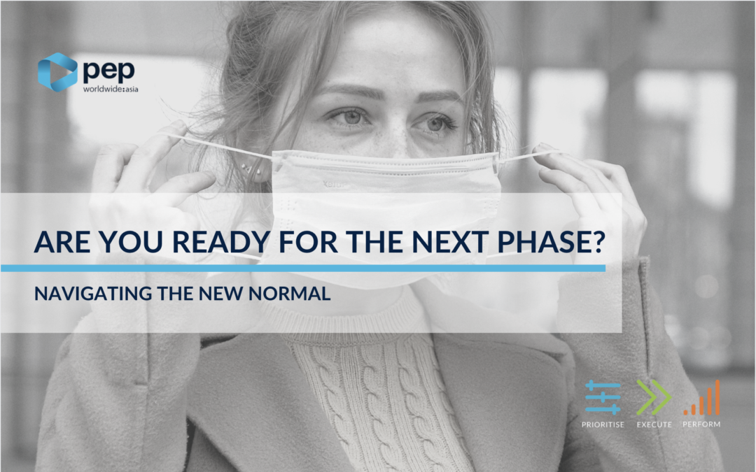 """Are you ready for the Next Phase?"": Navigating the New Normal"